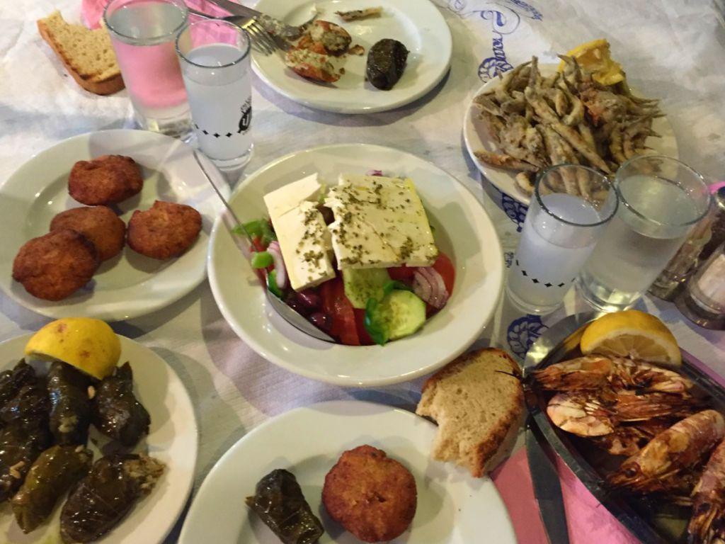 sakız adası yemek