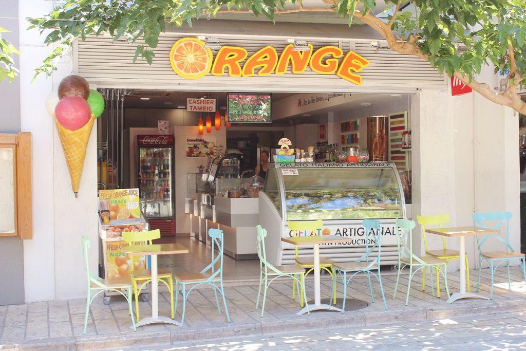 Orange Samos dondurma
