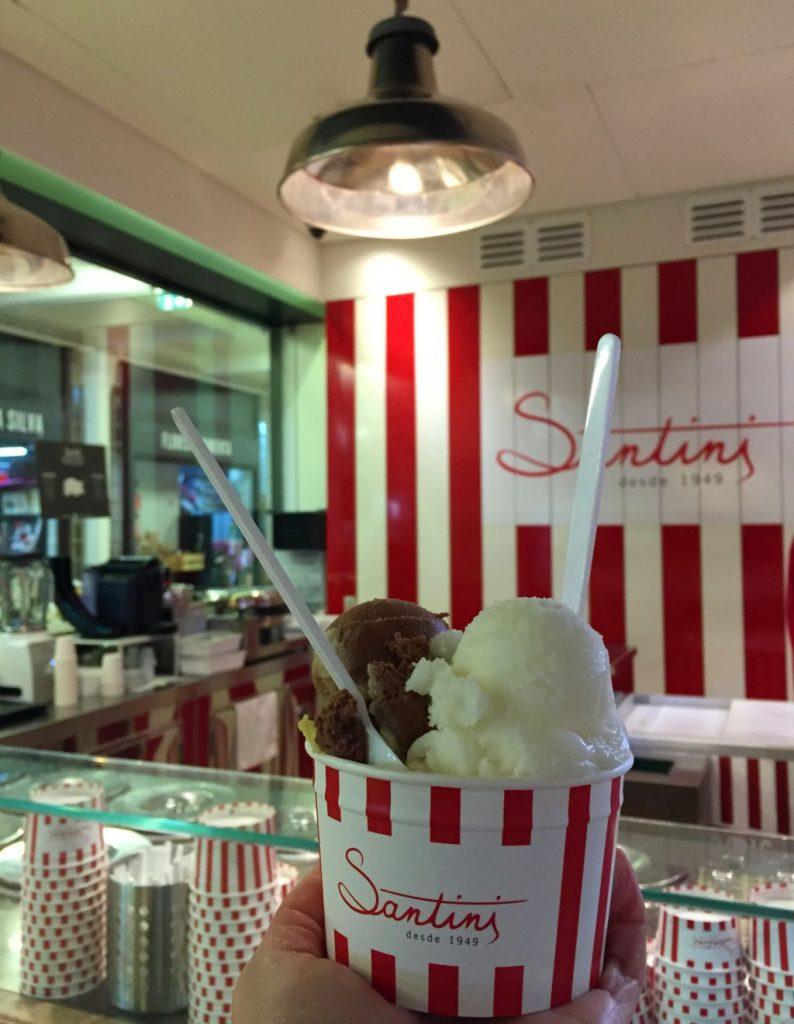santini lizbon dondurma