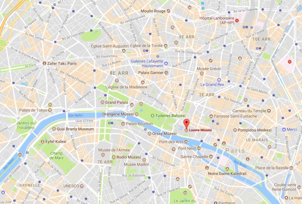 google maps yol tarifi