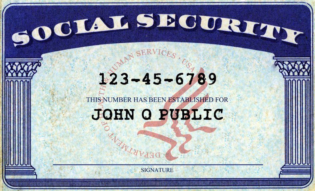 amerika sosyal güvenlik kartı
