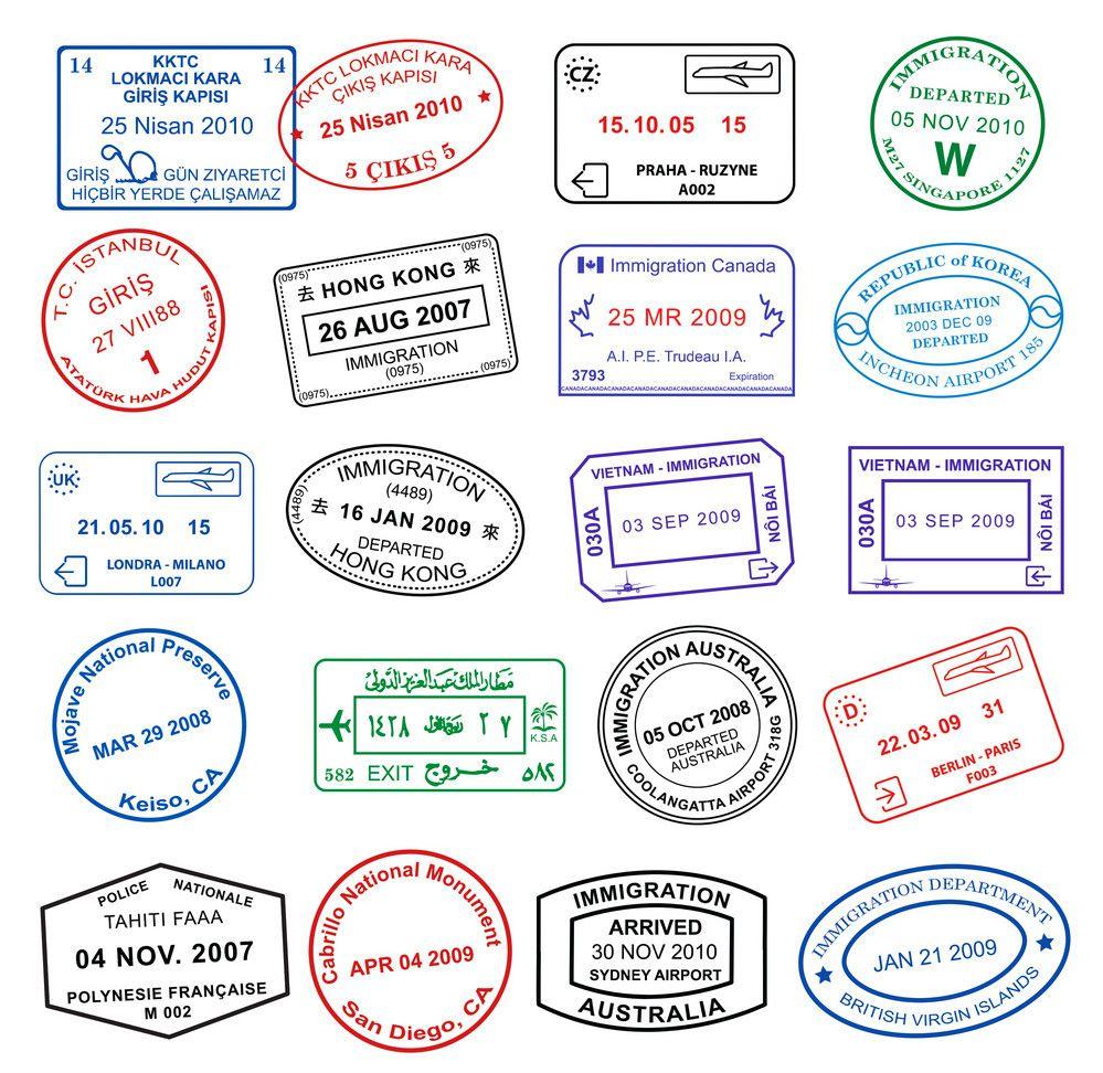 pasaport damga seyahat