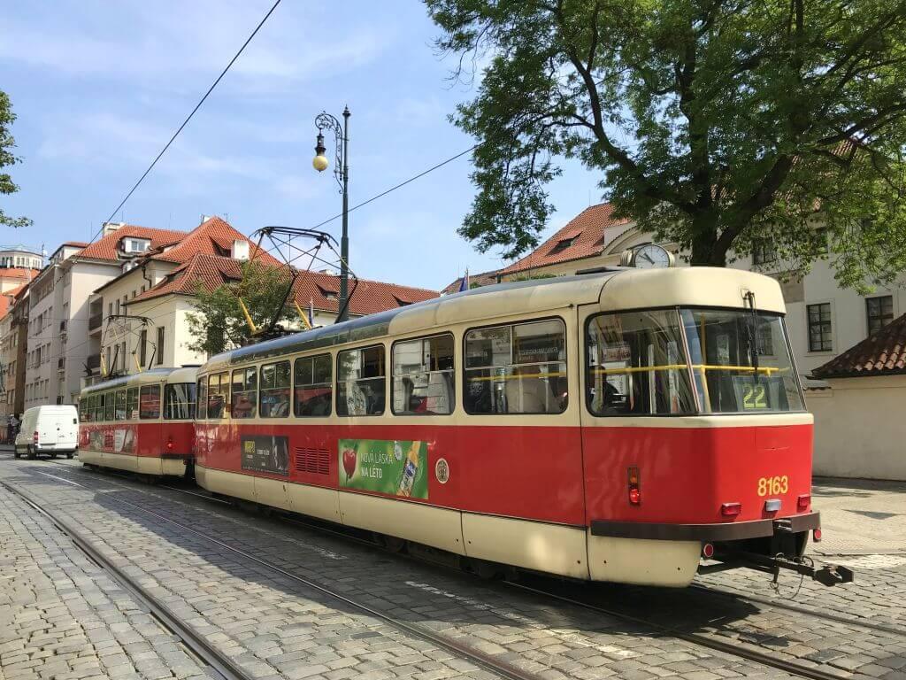 prag tramvay