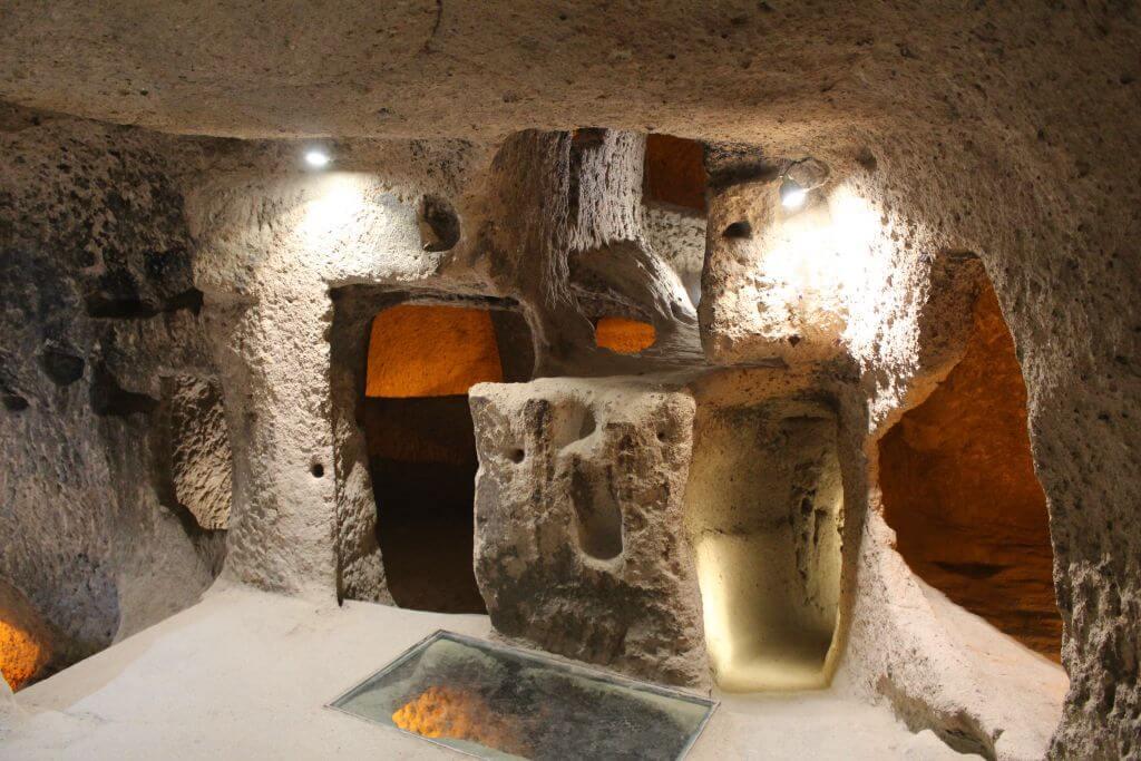 kapadokya yeraltı şehri