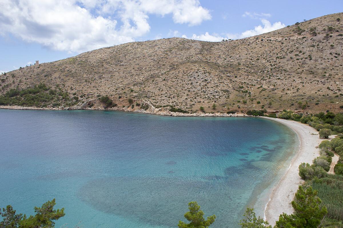 Sakiz Adası Elinda Plajı