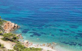 sakız adası plajları