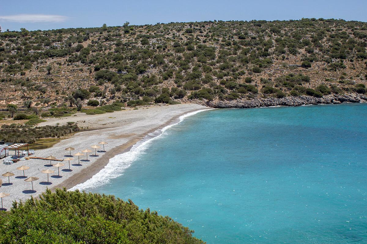Sakız Adası Salagona Plajı