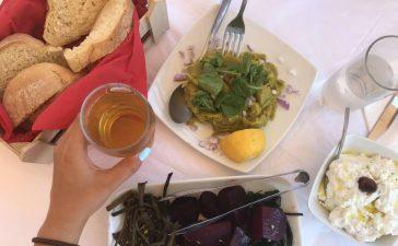 yunan sofrası yemek
