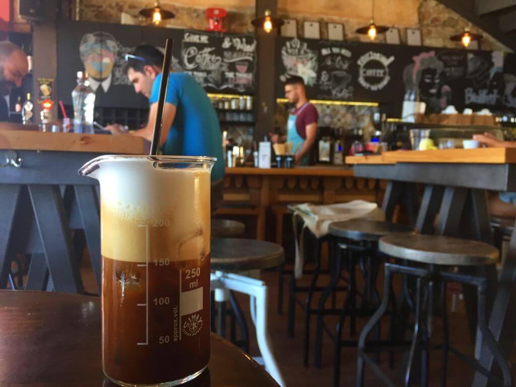 sakız adası kafe