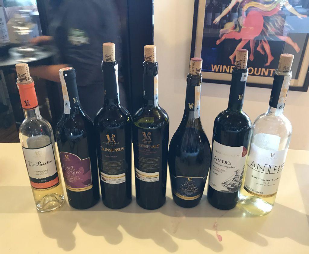 lucien arkas şarap izmir