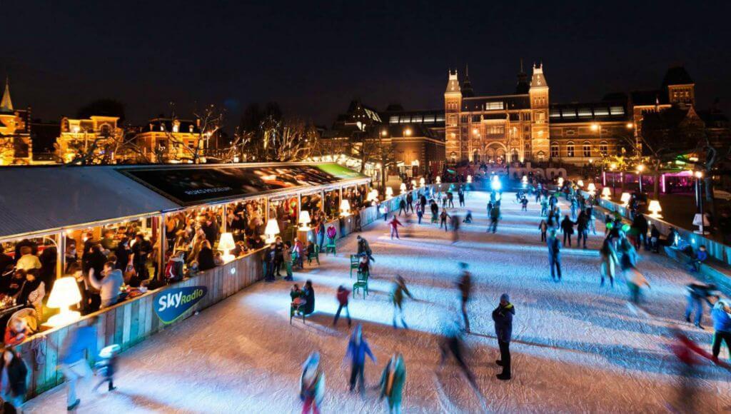 amsterdam noel pazarı