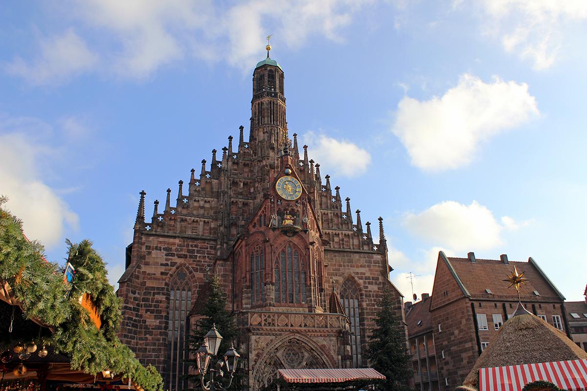 Hauptmarkt Nürnberg Almanya