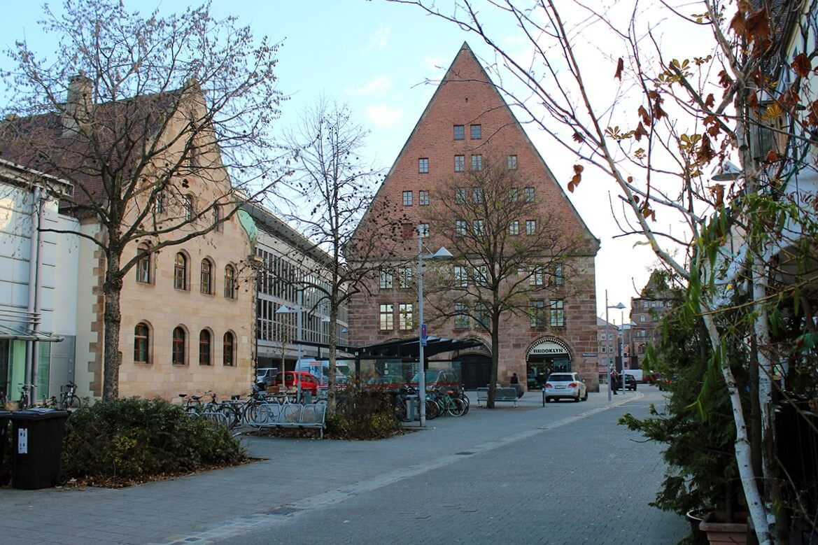 Nürnberg Almanya Ortaçağ
