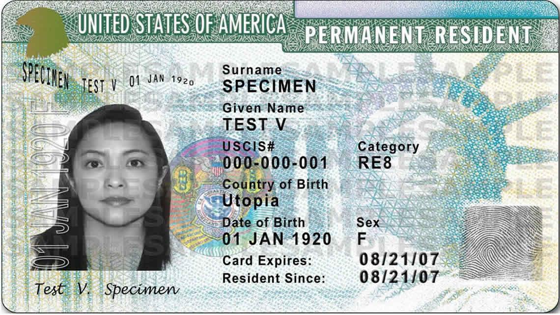 green card yeşil kart amerika
