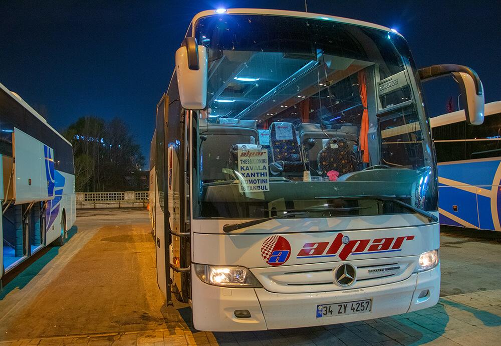Kavala'ya Otobüs ile Ulaşım