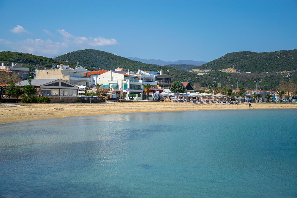 Yunanistan Kavala Plajları